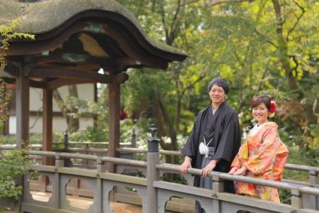 和テイスト前撮り<コスパ業界NO.1>東京・横浜で和装ロケーション撮影するならAsect(エーセクト)at三渓園