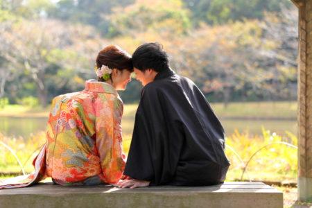 ポージング<コスパ業界NO.1>東京・横浜で和装ロケーション撮影するならAsect(エーセクト)at三渓園