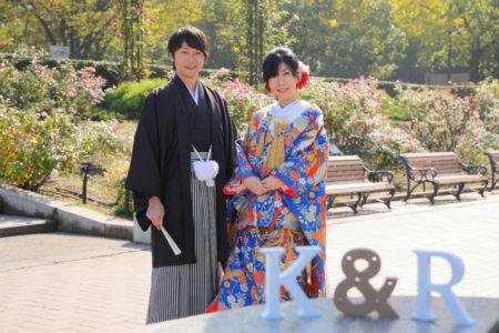 イニシャルブロックを使って<コスパ業界NO.1>東京・横浜で和装ロケーション撮影するならAsect(エーセクト)at山下公園