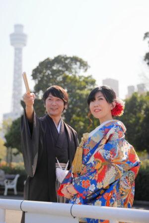 <コスパ業界NO.1>東京・横浜で和装ロケーション撮影するならAsect(エーセクト)at山下公園
